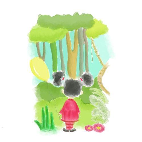 Cora di Hutan - Child Book