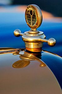 Vintage Hood Ornaments Photograph - 1922 Studebaker Touring Hood Ornament 3 by Jill Reger