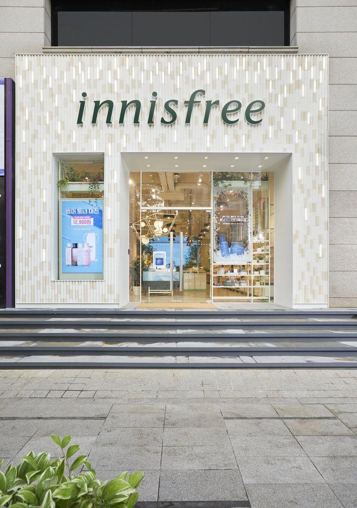 Innisfree Gangnam, Seoul, South Korea Storefront design