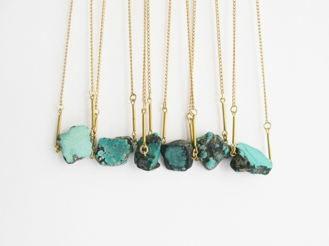 Turquoise! I need to make this!