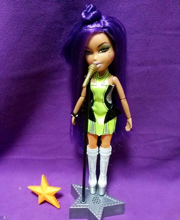 2010 BRATZ Yasmin : STYLE STARZ : Purple hair