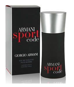 #GIORGIO ARMANI ARMANI SPORT CODE EDT FOR MEN You can find this @ www.PerfumeStore.sg / www.PerfumeStore.my / www.PerfumeStore.ph / www.PerfumeStore.vn
