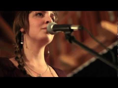 """Julia Easterlin performs her reimagining of the Pixie's song """"Break My Body"""", keeping the original lyrics but recreating a musical body, built live on a loop station. Filmed by Cliff Brodskey at Berklee College."""