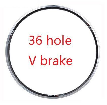26 inch Mountain bike rims disc brake V brake aluminum bicycle rim mtb tryall 36 / 32 hole