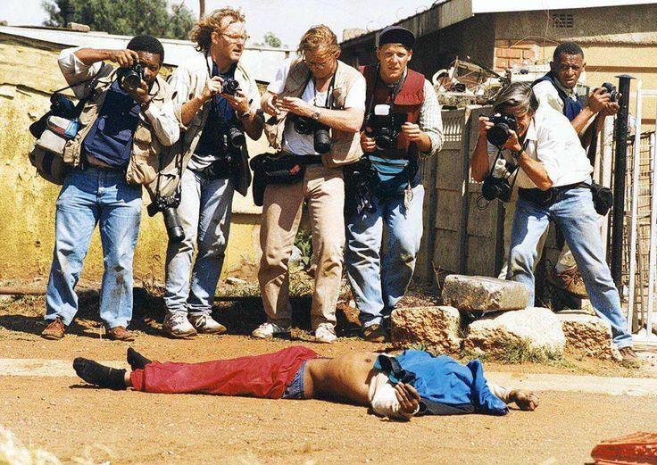 RPA, 19.04.1994. Zamieszki przed pierwszymi wolnymi wyborami, fot. Krzysztof Miller / Agencja Gazeta - photo 2