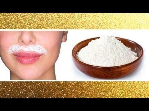 Comment se faire une épilation définitive de la moustache et du duvet avec de la farine - Astuces de grand mère