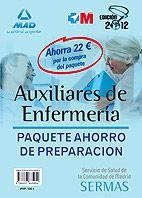 Paquete ahorro de preparación para Auxiliares de enfermería del Servicio de Salud de la Comunidad de Madrid