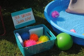 Diary of a Preppy Mom: Splish Splash Bash: Fun Stations
