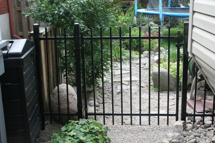 Manhattan Iron Gate  Fence-All