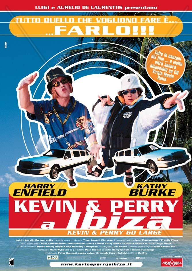 Kevin & Perry a Ibiza