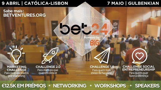 BET24: Competição para acelerar ideias de negócio e apoiar o empreendedorismo jovem
