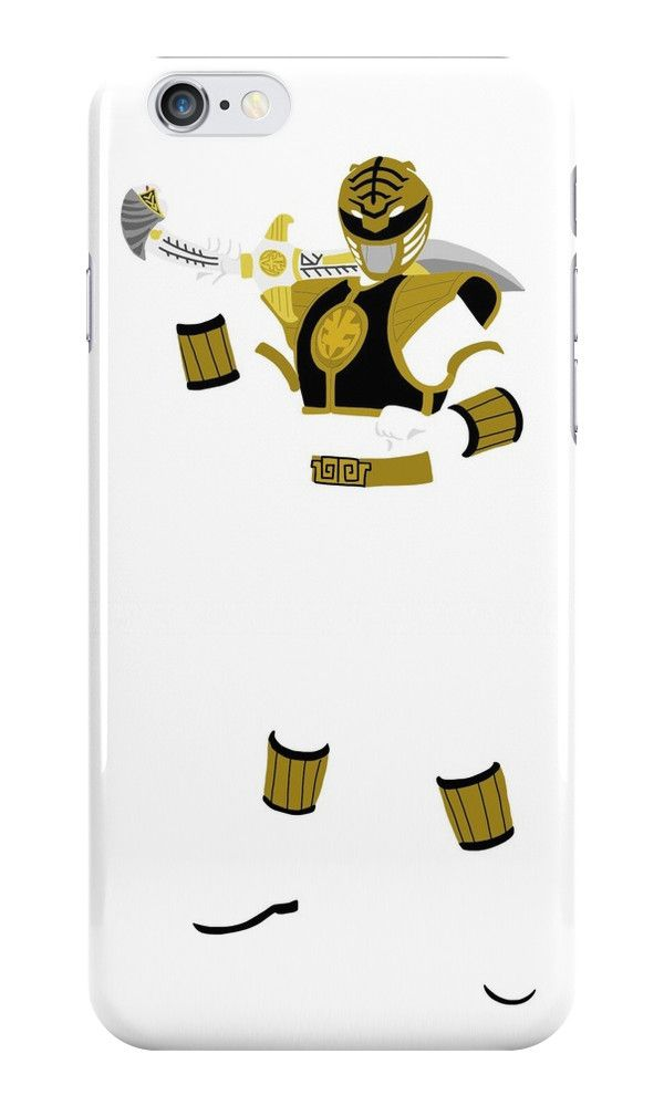 Mighty Morphin Power Rangers White Ranger iPhone Case