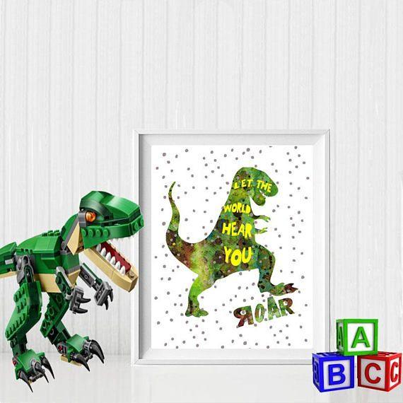 Let the World hear you ROAR Tyrannosaurus rex