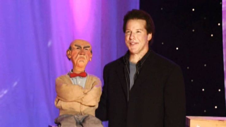 jeff dunham arguing with myself blooper with walter (high quality video)