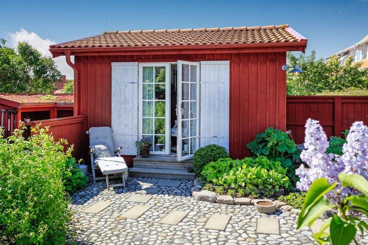 Ett sött litet attefallshus