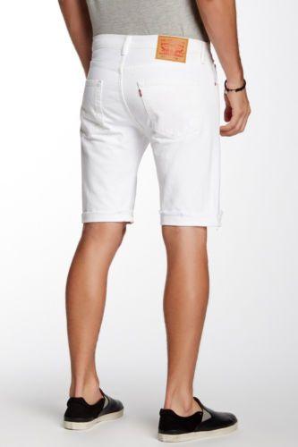 7d681645 Levis Levi's Men White 501 cut-off Jeans denim shorts Waist size 30 or 32    Roupas, calçados e acessórios, Roupas masculinas, Shorts e bermudas   eBay!