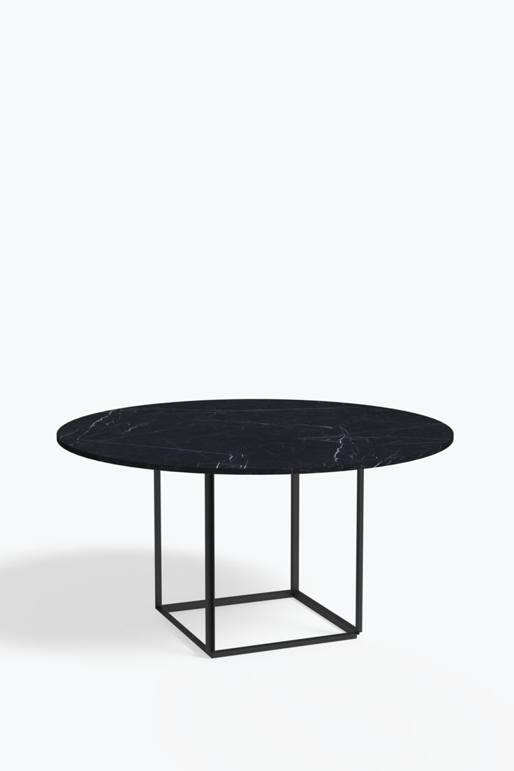 Florence Dining Table 145 W Marble Table To Black Dining Florence Frame Iron Marble Marquina Marble Table Top Marble Table Marble Tables Design