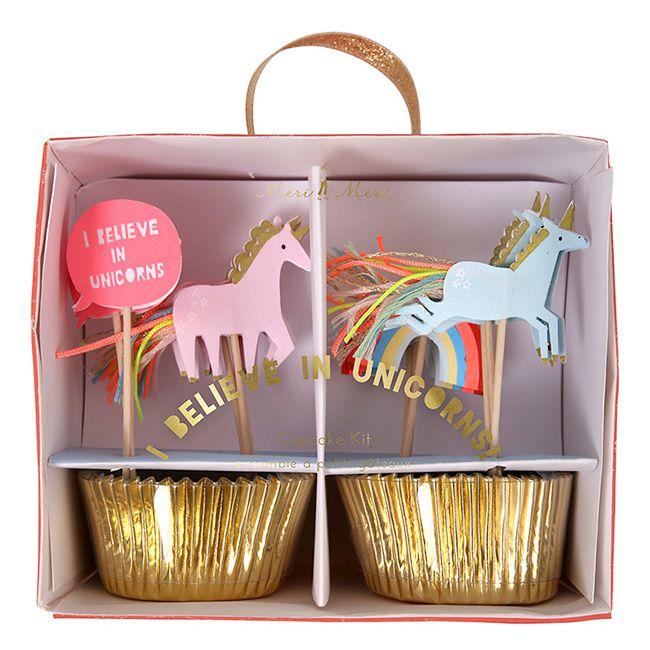 Cupcake Set Einhorn von Meri Meri | Minidrops