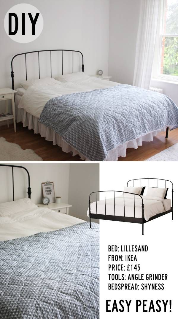 nordic bliss diy lillesand bed ikea hacker interiors. Black Bedroom Furniture Sets. Home Design Ideas