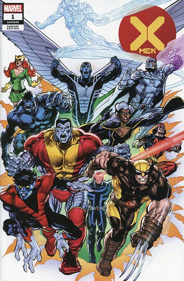 X Men 1 2019 Complete Cover Checklist In 2020 Xmen Comics Xmen Art Comics