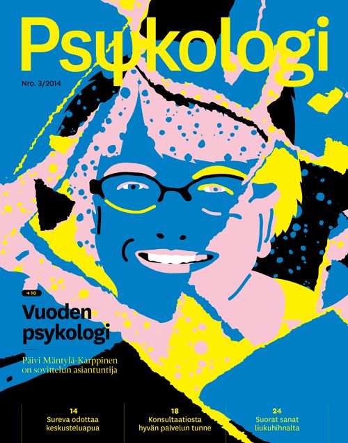 Psykologi, Magazine Cover, 2014