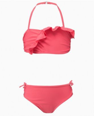 Penelope Mack Kids Swimwear, Girls Ruffle Bikini - Kids Swim Shop - Macy's