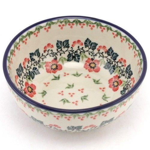 $27.49 Bowl 5.5 inch (14 cm) #232 | Slavica Polish Pottery  sc 1 st  Pinterest & 254 best Polish Pottery images on Pinterest | Polish pottery Dishes ...