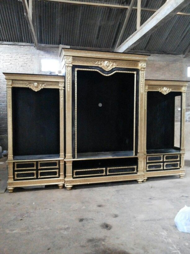 Cabinet Black Golden Armora Ready on Furnitur Indonesia, call now.
