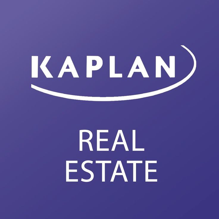 Kaplan Real Estate Education | Real Estate, Appraisal, Contractor, and Home Inspection Training