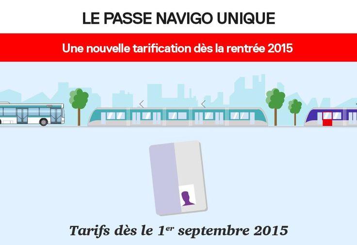 Tarifs du passe #Navigo unique + forfaits Imagine R qui entrent en vigueur le 01/09