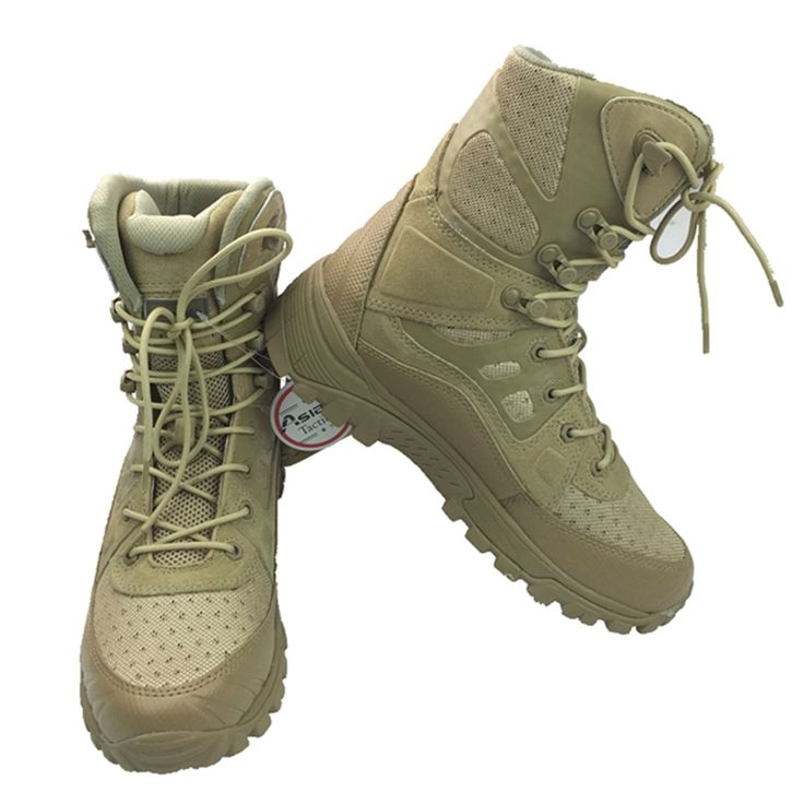 New Outdoor Hiking Boots Special Forces Tactical Boots Men's Desert Combat Boots Size 39 40 41 42 43 44 45