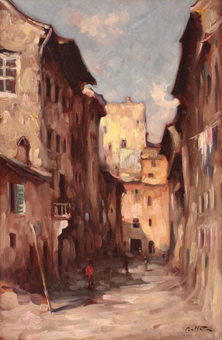 Adam Bălțatu - Străduțe la Veneția