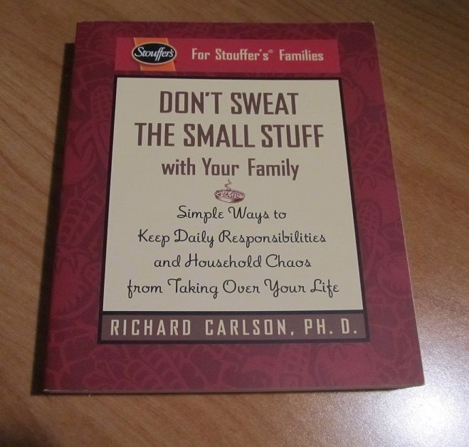 DON'T SWEAT THE SMALL STUFF WITH YOUR FAMILY by Richard Carlson, PH.D. #Paperback