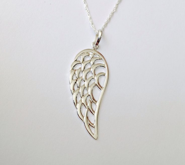 A personal favorite from my Etsy shop https://www.etsy.com/listing/497376939/angel-feather-pendant-feather-necklace