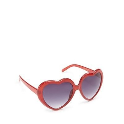 Floozie by Frost French Red heart sunglasses- | Debenhams