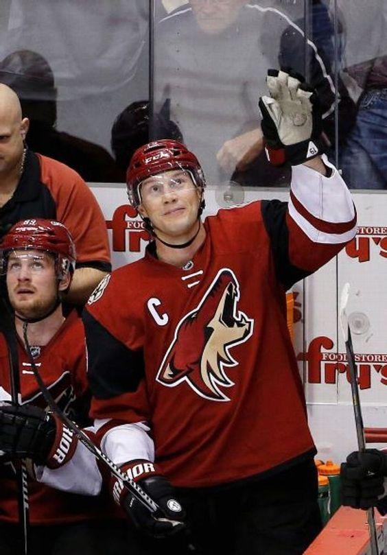 Love captain! Shane Doan, Arizona Coyotes.--Arizona Coyotes