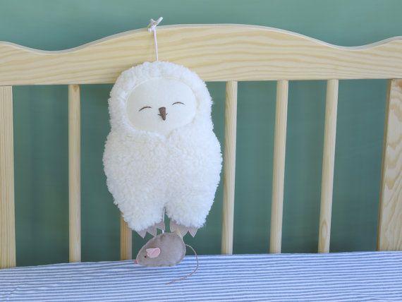 Harfang des neiges Hedwig peluche musicale boîte à par PetitiPanda