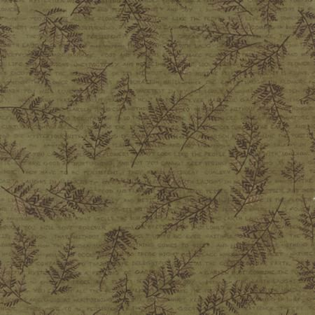 The Potting Shed Fern 6622 13 from Moda Fabrics and Holly Taylor