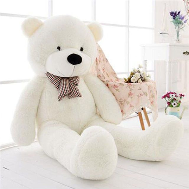 "Giant Plush Teddy Bear Stuffed Animal Soft Toy Girls Children Christmas Gift 47/"""