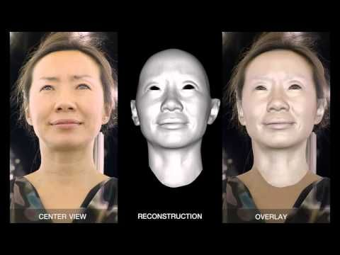 Driving High-Resolution Facial Scans with Video Performance Capture