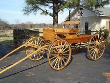 Western, Horse drawn, Custom buckboard wagon