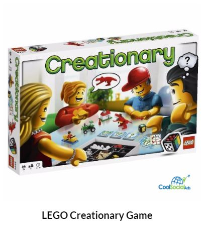 LEGO Creationary Game  for more details visit http://coolsocialads.com/lego-creationary-game--84724