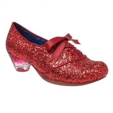 Curio Low by Irregular Choice Ruby slippers