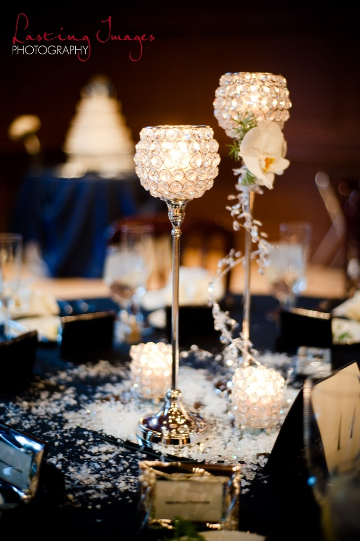#Winter #Wedding #AZ #Blue #Silver More Wedding ideas at www.