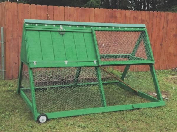 A-Frame Chicken Tractor | Do It Yourself Home Projects from Ana White