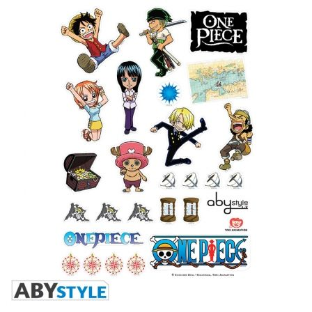 ONE PIECE Sticker One Piece SD Characters