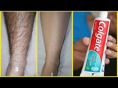 Toothpaste For Unwanted Hair Removal | Amazing Toothpaste Beauty Hacks - YouTube