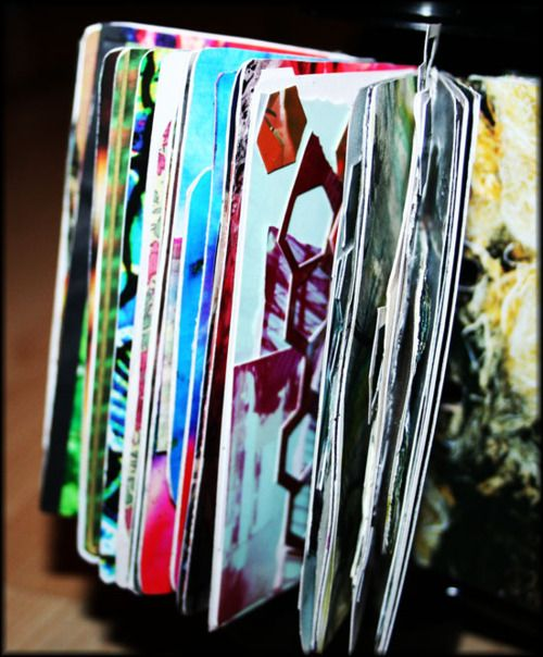 Altered Rolodex: Handmade Books, Collage Books