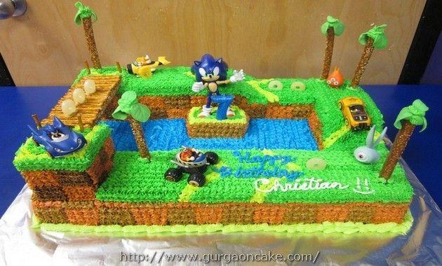 Sonic Birthday Cakes Picture
