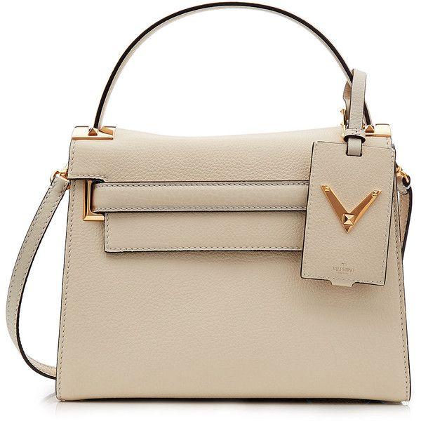 Valentino My Rockstud Leather Shoulder Bag ($2,045) ❤ liked on Polyvore…